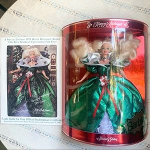 NWB Vintage 1995 Special Edition Holiday Barbie